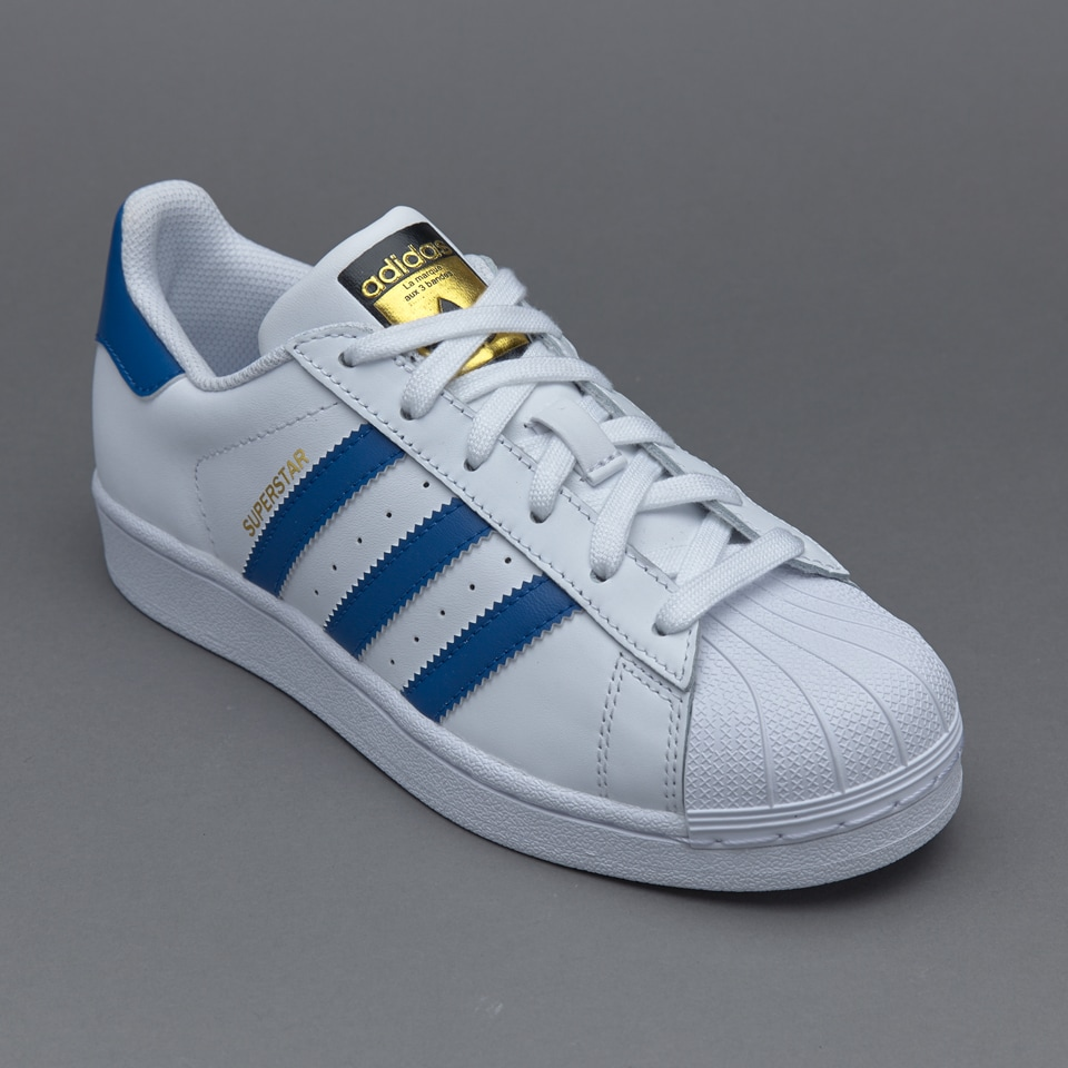 Junior Foundation Blue S74944 White Women Superstar Adidas q6SxUU