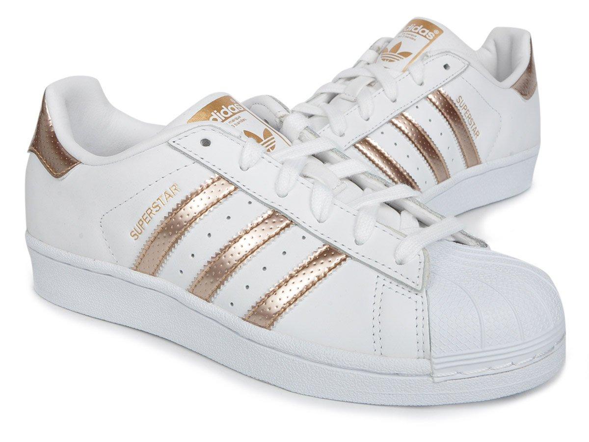 on sale 4cbfb f4749 ADIDAS Superstar Originals da Donna Scarpe Da Donna Bianco Sneaker Scarpe  Da Ginnastica Nuovo ba8169