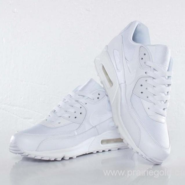 on sale b899d 9137e Canada-20162011201020122013201520142017-Nike-Air-Max-90-Essential-537384111- WhiteWhiteWhite-Shoes-Size556578859510111213-US 11