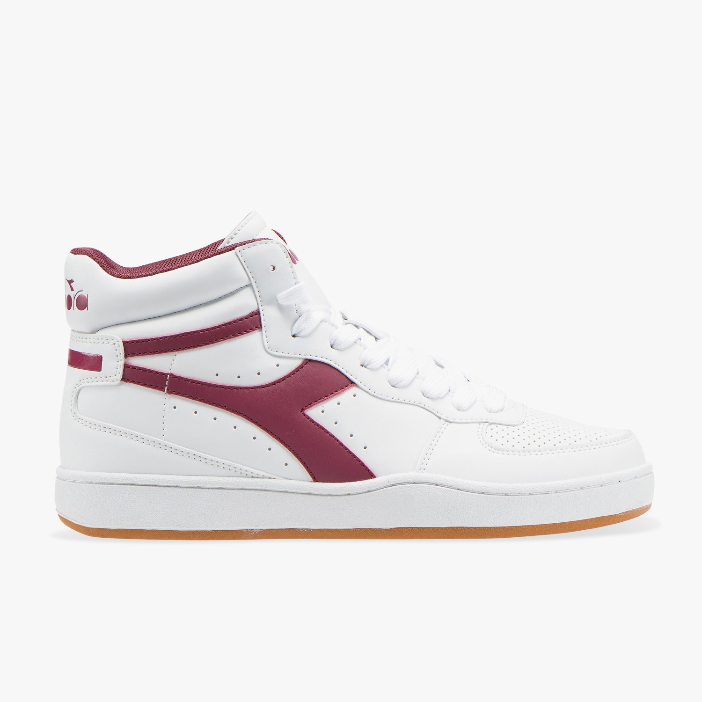 DIADORA PLAYGROUND Sneaker alta donna bianca