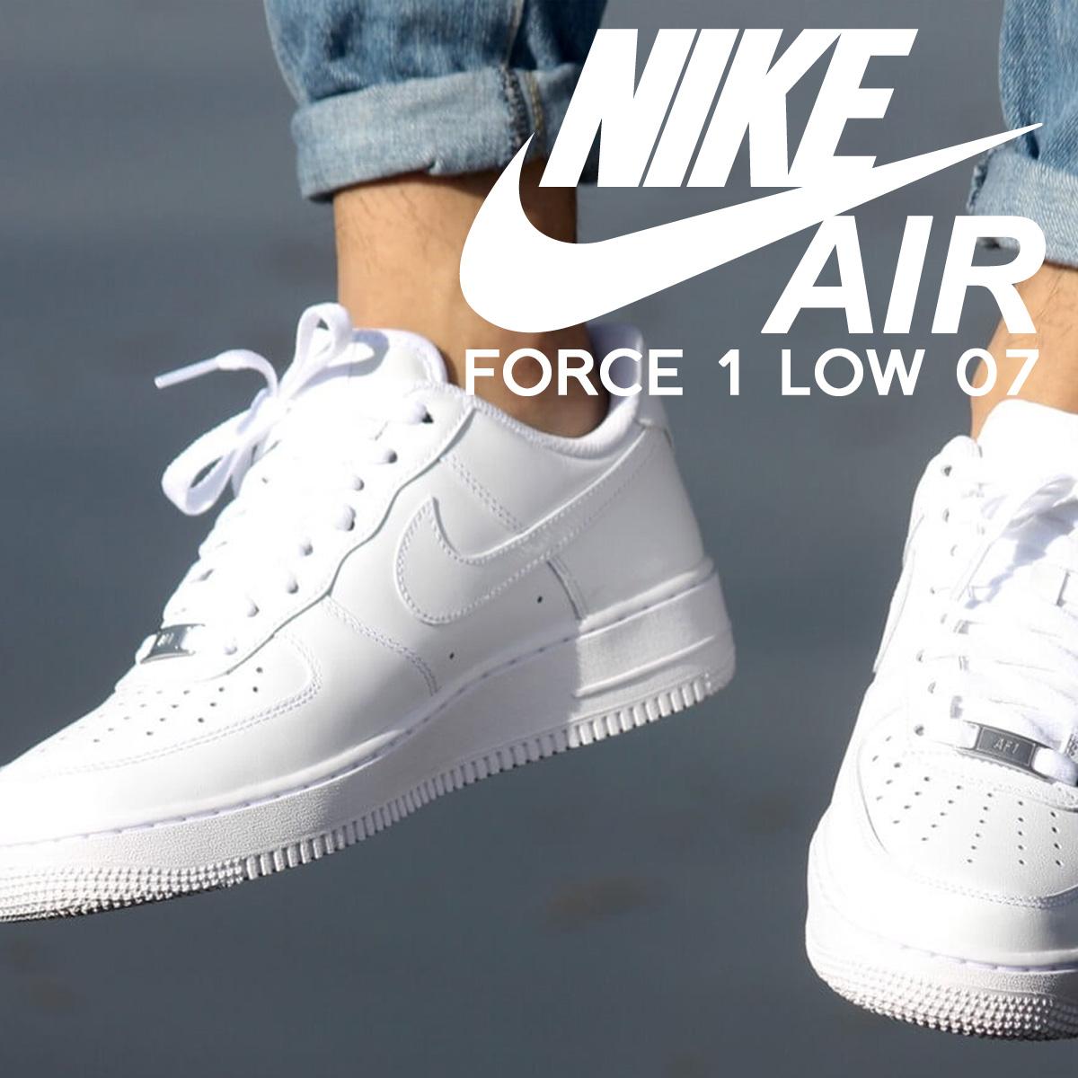 Nike Air Force 1 '07 315122 111 SCARPA UOMO BIANCO SNEAKER